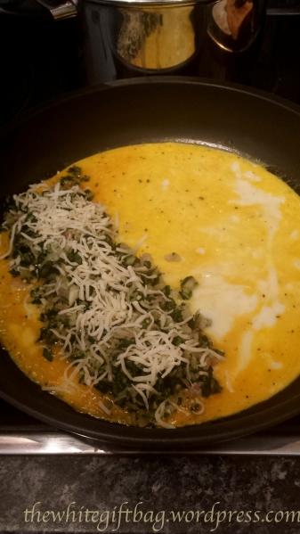 Mangold-Käse-Omlett
