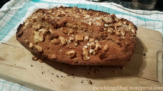 Banana Bread with Apple pieces