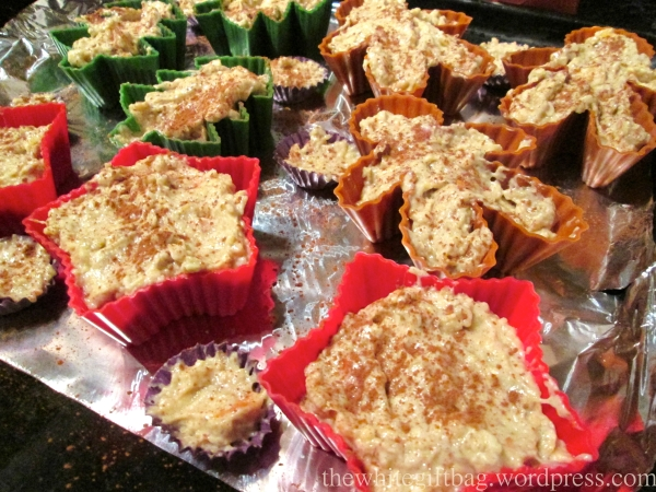 Whole Grain Apple Cinnamon Muffins
