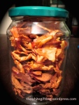 apple chips with cinnamon
