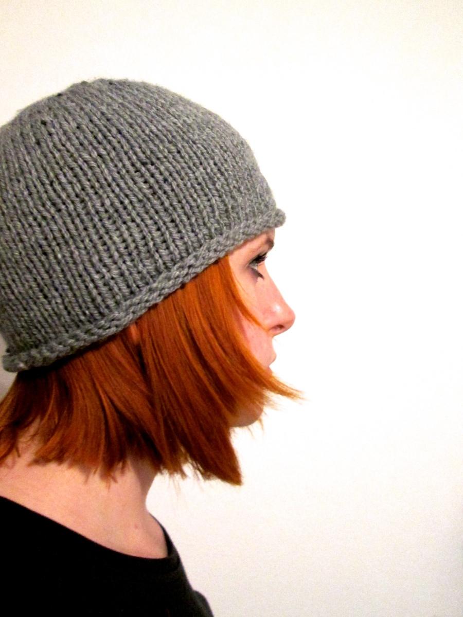 Einfache Mütze selber stricken